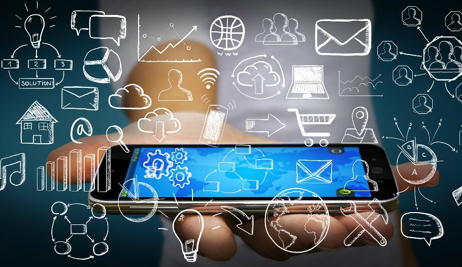 Smartphone Symbole