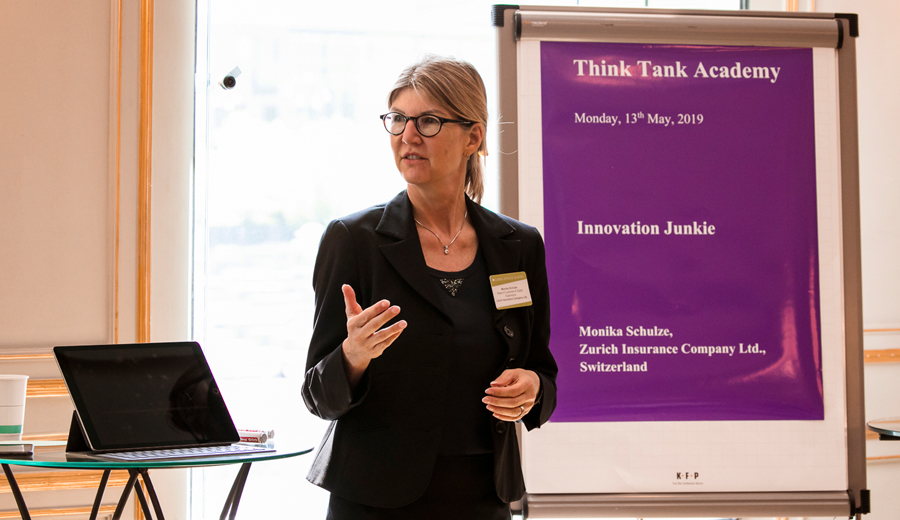 Monika Schulze: Think Tank Innovation Junkie